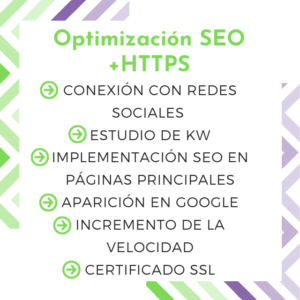 optimización seo web ssl