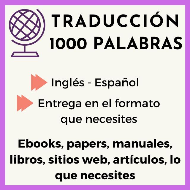 traduccion 1000 palabras ingles-español