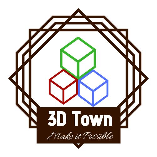 Diseño de sitio web y redes sociales de Tienda de Impresión 3D – 3D Town